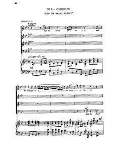 No.7 И очистит сынов Левия, чтобы приносили жертву Господу в правде: Клавир с вокальной партией by Георг Фридрих Гендель