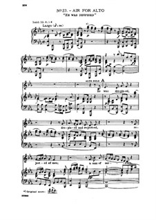 No.23 Он был презрен и умален пред людьми: Клавир с вокальной партией by Георг Фридрих Гендель