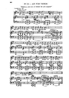No.30 Взгляните и посмотрите: Клавир с вокальной партией by Георг Фридрих Гендель