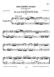 Сонатина фа мажор: Для фортепиано by Людвиг ван Бетховен