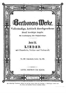 Двадцать пять шотландских песен, Op.108: Сборник by Людвиг ван Бетховен