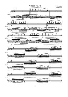 Kincob No.+2 for piano, MVWV 1103: Kincob No.+2 for piano by Maurice Verheul