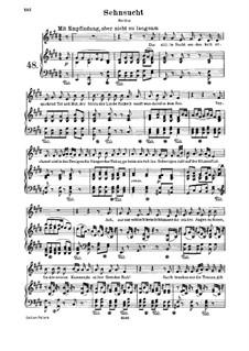 Sehnsucht, WoO 146: Sehnsucht by Людвиг ван Бетховен