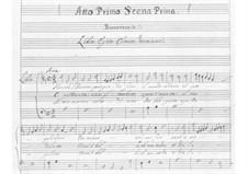 L'Egisto (Aegisthus) : Акт I by Пьетро Франческо Кавалли