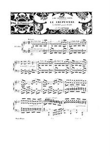 Le Crépuscule, Op.33: Le Crépuscule by Петер Кавалло