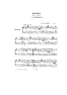 Мазурка, Op.47: Мазурка by Петер Кавалло