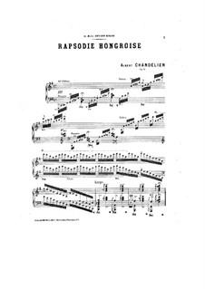 Венгерская рапсодия, Op.13: Венгерская рапсодия by Альбер Шанделье