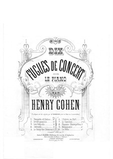 Dix Fugues de Concert: Dix Fugues de Concert by Fнри Коэн
