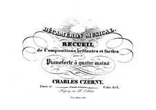 Recueil de Compositions brillantes et faciles, Op.111: Recueil de Compositions brillantes et faciles by Карл Черни