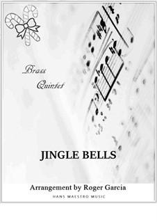 Jingle Bells: Для квинтета медных духовых by James Lord Pierpont