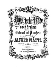 No.17-21: Для виолончели и фортепиано by Иоганнес Брамс