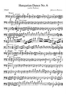 No.5, 6: Для оркестра – Партия виолончели by Иоганнес Брамс