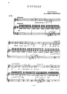 Семь романсов и дуэтов, Op.19: No.2 Звезда by Цезарь Кюи
