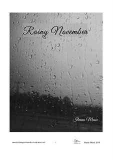 Rainy November, Op.20: Rainy November by Андрей Гончаренко