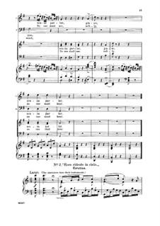 Севильский цирюльник: Ecco ridente in cielo. Aria for Tenor by Джоаккино Россини