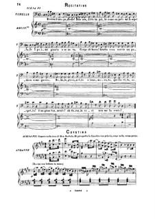 Севильский цирюльник: Una voce poco fa. Cavatina for Soprano by Джоаккино Россини