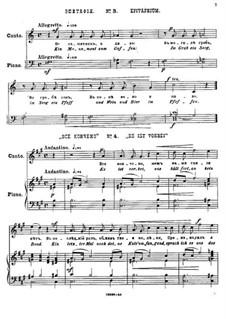 Двадцать пять стихотворений на слова Пушкина, Op.57: No.3-5 by Цезарь Кюи