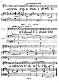 Двадцать пять стихотворений на слова Пушкина, Op.57: No.5 Сафо by Цезарь Кюи