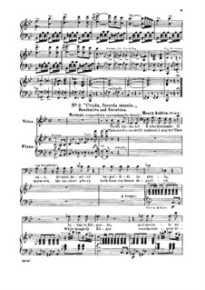 Лючия ди Ламмермур: Cruda, funesta smania. Aria for baritone (italian/english) by Гаэтано Доницетти