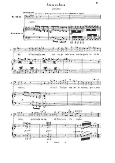 Фаворитка: Vien, Leonora, a piedi tuoi. Recitative and Aria for bass by Гаэтано Доницетти