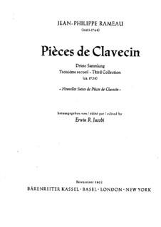 Nouvelles suites de pièces de clavecin: Для одного исполнителя by Жан-Филипп Рамо
