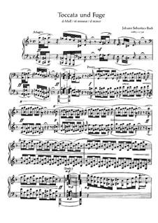 Токката и фуга ре минор 'Дорийская', BWV 538: Для фортепиано by Иоганн Себастьян Бах