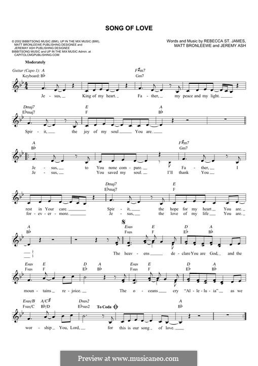Song of Love: Мелодия by Jeremy Ash, Matt Bronleewe
