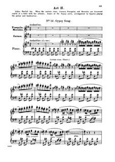 Les tringles des sistres tintaient: Les tringles des sistres tintaient by Жорж Бизе