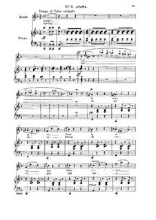 Ромео и Джульетта: Ah! Je veux vivre dans le rêve. Arietta for soprano (french/english) by Шарль Гуно