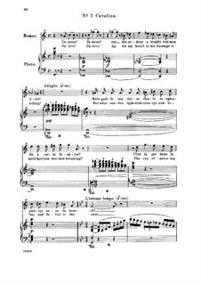Ромео и Джульетта: Ah! Lève toi, soleil!. Recitative and Cavatina for tenor (french/english) by Шарль Гуно