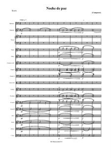 Тихая ночь (ноты для скачивания): For symphonic orchestra by Франц Ксавьер Грубер