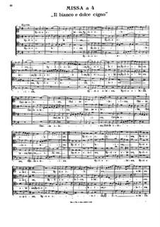 Il bianco e dolce cigno, Op.6: Il bianco e dolce cigno by Стефано Бернарди