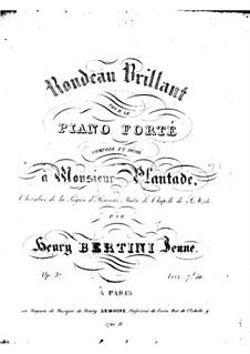 Блестящее рондо, Op.37: Блестящее рондо by Анри Жером Бертини
