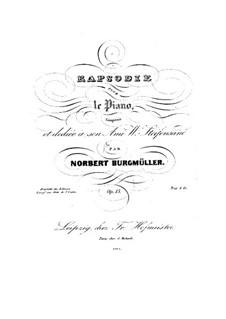 Рапсодия си минор, Op.13: Рапсодия си минор by Норберт Бургмюллер