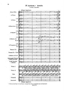 Geharnischte Suite (Armored Suite), BV 242 Op.34a: Порыв by Ферруччо Бузони