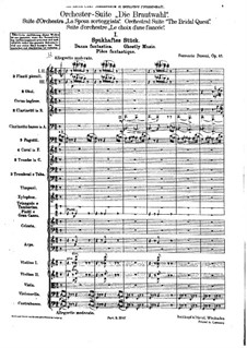 Die Brautwahl (The Bridal Choice), BV 261 Op.45: Прозрачная музыка by Ферруччо Бузони