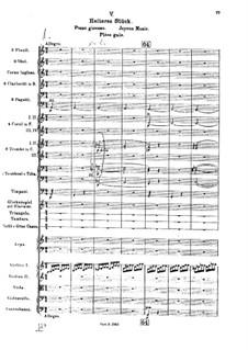 Die Brautwahl (The Bridal Choice), BV 261 Op.45: Радостная музыка by Ферруччо Бузони