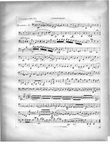 Два квартета для фортепиано и струнных, Op.224: Партия виолончели by Карл Черни