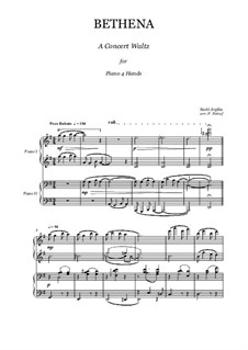 Бетена: Для фортепиано в 4 руки by Скотт Джоплин