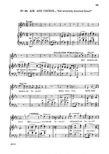 Иуда Маккавей, HWV 63: Ah! wretched, wretched Israel!. Aria for soprano by Георг Фридрих Гендель