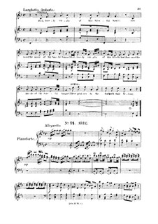 Иисус Навин, HWV 64: Hark, hark! 'tis the linnet. Aria for soprano by Георг Фридрих Гендель