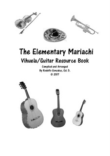 Elementary Mariachi: Vihuela/Guitar part by folklore