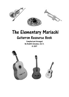 Elementary Mariachi: Guitarron part by folklore
