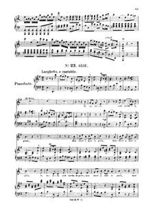 Иисус Навин, HWV 64: To vanity and earthly pride. Aria for soprano by Георг Фридрих Гендель
