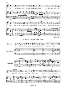 Соломон, HWV 67: With thee th'unshelter'd moor I tread. Recitative and Aria for soprano by Георг Фридрих Гендель