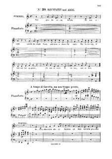 Иисус Навин, HWV 64: Heroes, when with glory burning. Recitative and Aria for alto by Георг Фридрих Гендель