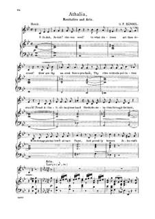 Аталия, HWV 52: O Lord, whom we adore. Recitative and Aria for alto/countertenor by Георг Фридрих Гендель