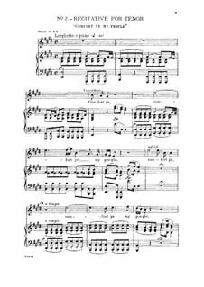 No.3 Всякий дол да наполнится: For tenor and piano by Георг Фридрих Гендель