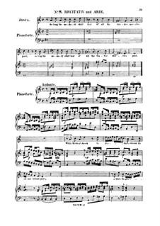 Иисус Навин, HWV 64: While Kedron's brook to Jordan's stream. Recitative and Aria for tenor by Георг Фридрих Гендель
