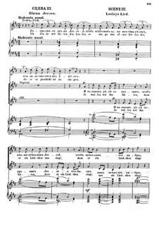 Вильям Ратклиф: Акт II, Картина I, Сцена III 'Песня Леслея' by Цезарь Кюи